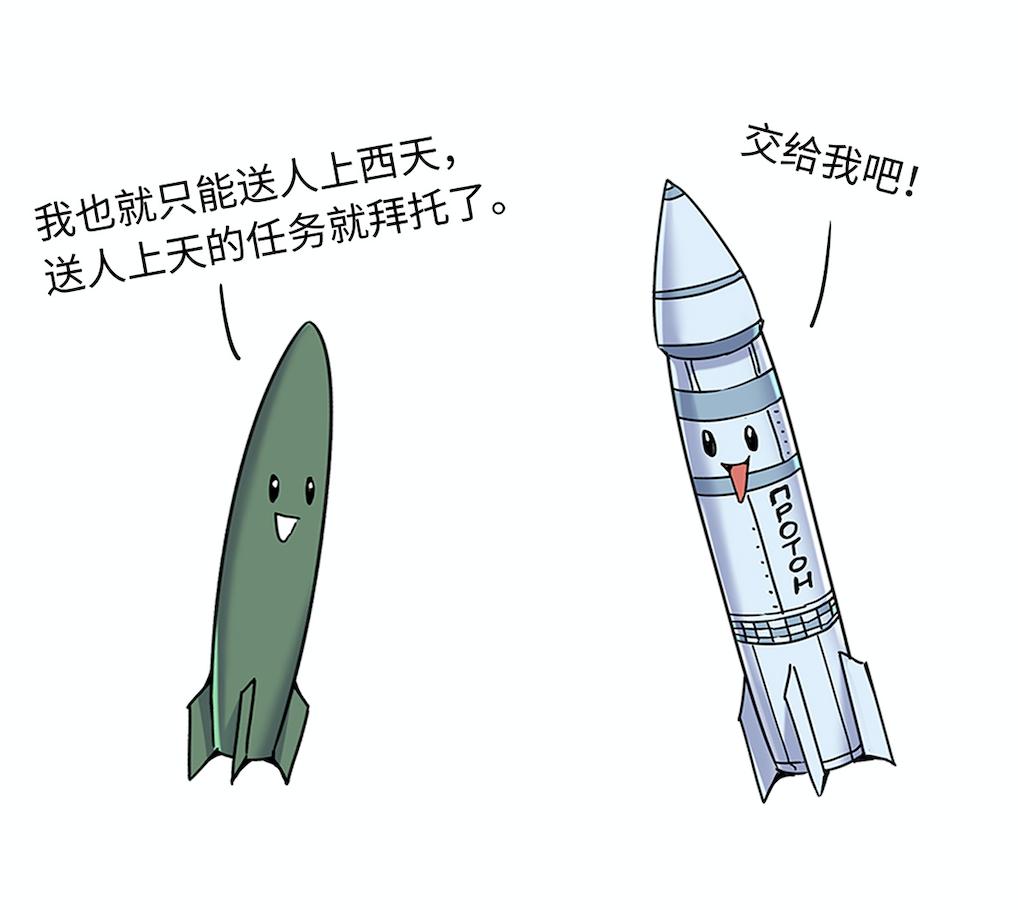 承上启下的火箭